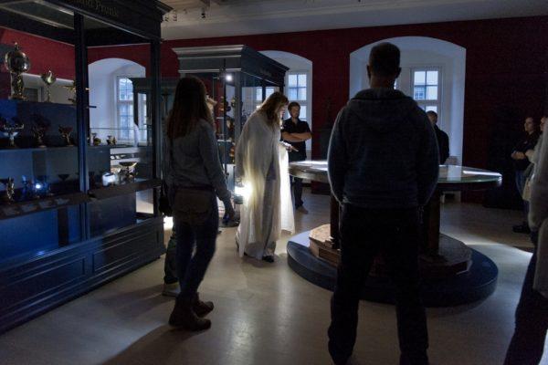"""/ Bilder vom Premierenwochenende der Veranstaltung """"Nachtwandler. Mondscheinlegenden im Landesmuseum"""" am 16.09.2017"""